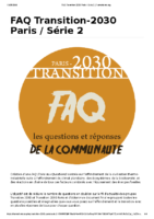 FAQ Transition-2030 Paris _ Série 2 _ Framaforms.org