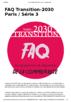 FAQ Transition-2030 Paris _ Série 3 _ Framaforms.org